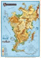 Aventurien Karte