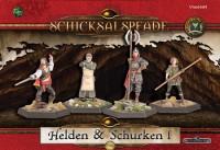 Schicksalspfade Helden und Schurken Cover