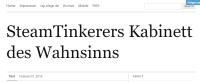 Steam Tinkerer Kabinett des Wahnsinns