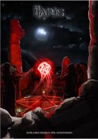 Eine Gruppe Kultisten beschwört einen rot leuchtenden W20 im fahlen Mondlicht